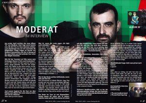 Freshguide MDL 160 MAI 2016, Moderat-Interview