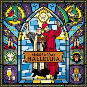 Audio88 & Yassin - HALLELUJA, Album Cover
