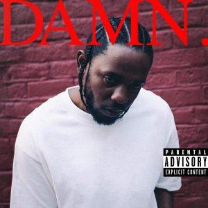 Kendrick Lamar - DAMN., Album Cover