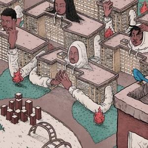 Open Mike Eagle - Brick Body Kids Still Daydream, Album Cover