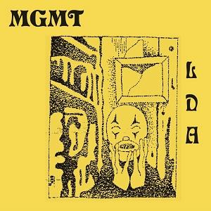 MGMT - Little Dark Age, Album Cover