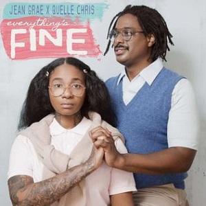 Jean Grae & Quelle Chris - Everything's Fine, Album Cover